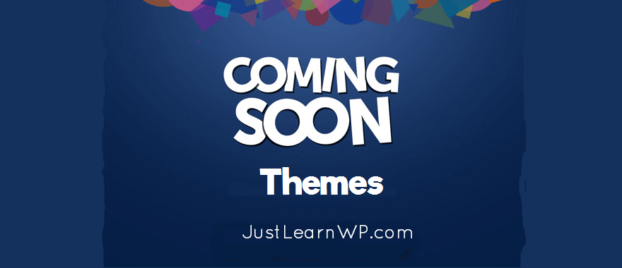 Best Free Premium coming soon wordpress themes