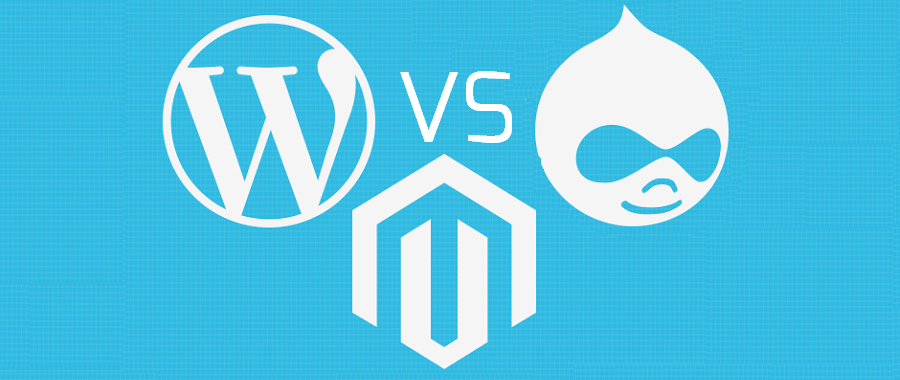 WordPress vs Drupal and Magento