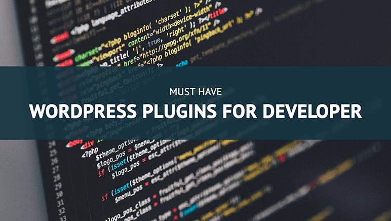 Must have WordPress plugin for developer