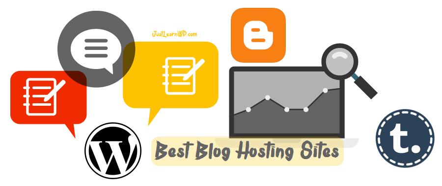 Best Blog Hosting Sites - To Start a Blog