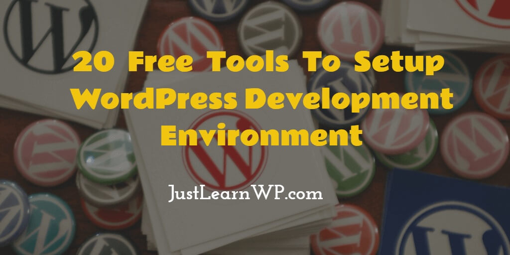 Setup WordPress Development Environment