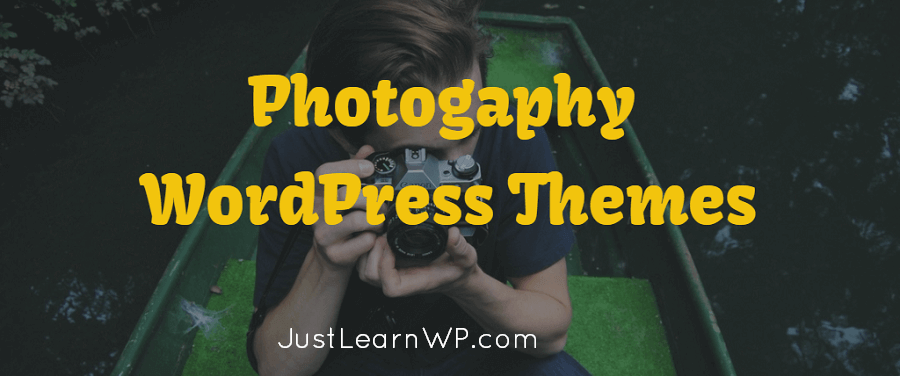 free Photogaphy WordPress Themes
