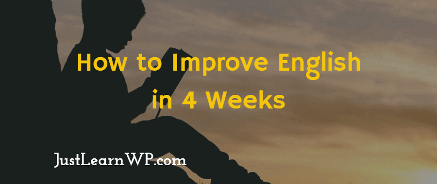 how to improve English - 10 tips for beginners