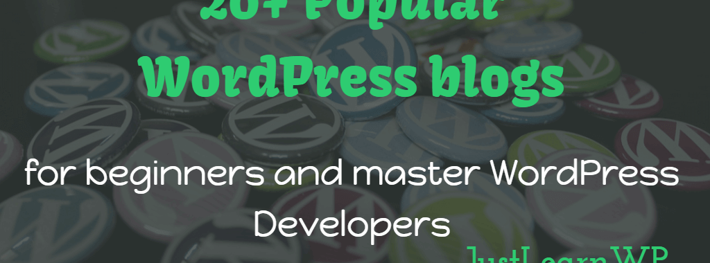 most popular WordPress blogs to follow