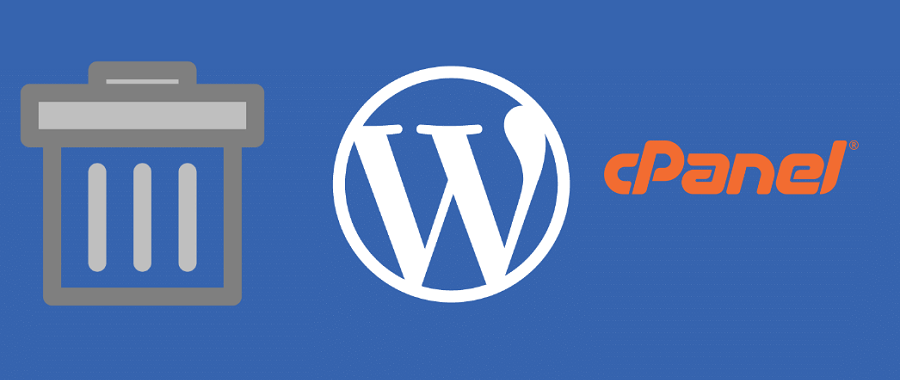 How to delete WordPress site from cPanel