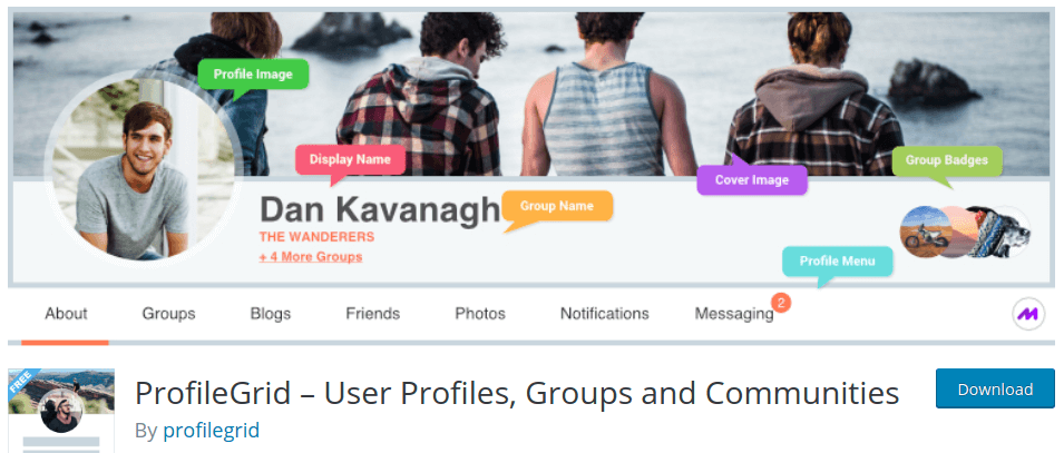 ProfileGrid – User Profiles, Groups and Communities – WordPress plugin