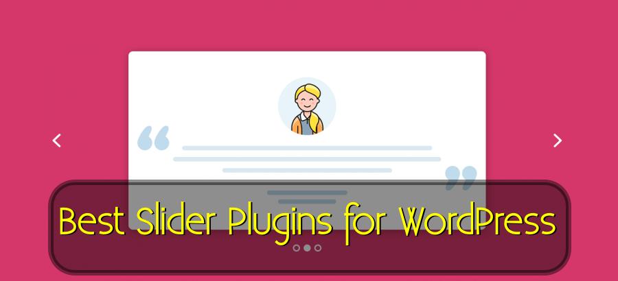 best slider plugin WordPress free