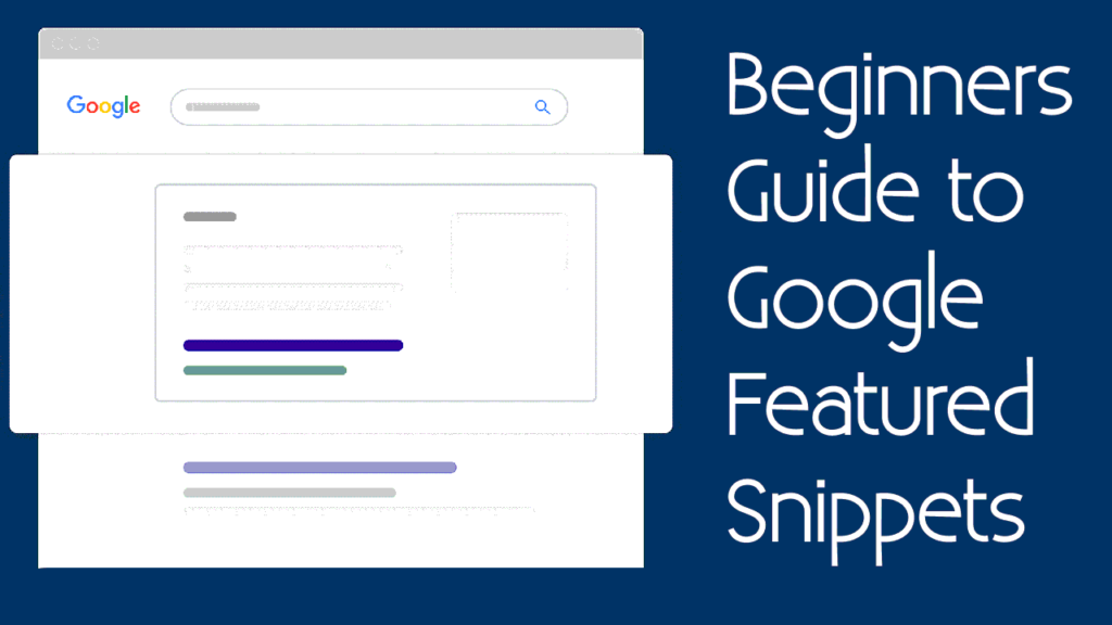 google-featured-snippet for beginners
